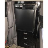 Peterbilt 379 386 389 Refrigerator Storage Solution Gloss Black