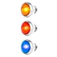 "1 1/4"" Mini Moon Dual Revolution Classic Style LED Main On"