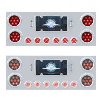 "Competition Series Rear Center Panel With 4"" & 2"" Round LEDs"