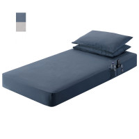 "39"" x 80"" Sleeper Cab Sheet Set Midnight Blue"