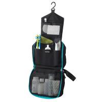 Toiletry Bag Black (Unzipped)