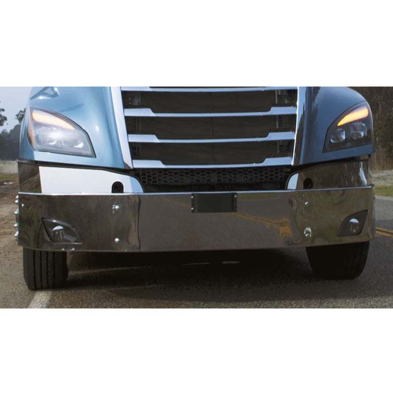 Freightliner Cascadia Chrome Bumper 2018 & Newer By Valley Chrome