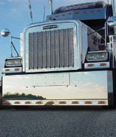 "Kenworth Style Grill Bar 38"" Length By RoadWorks"