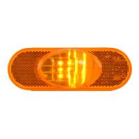 9 Amber LED Oval Side Marker & Turn Light Main