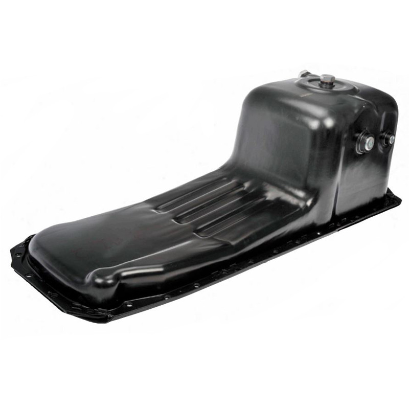Cummins ISM Heavy Duty Engine Oil Pan Angled
