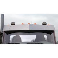 "Peterbilt 579 567 11"" Flat Top Drop Visor By RoadWorks"