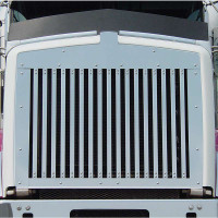 Kenworth T800 Replacement Grill with 17 Vertical Bars 1995 & Newer