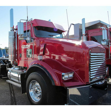 Kenworth T800 Replacement Grill With Louver Style Bars