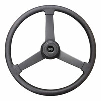 "20"" Beast Black Polyurethane Steering Wheel"