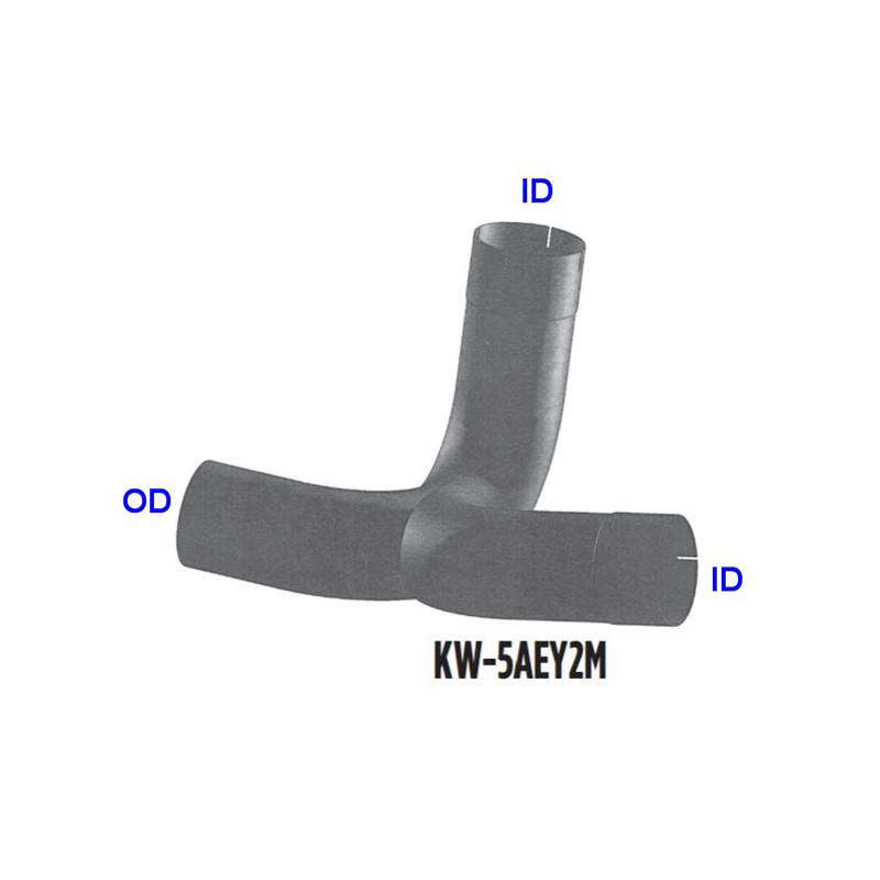 Kenworth T800 W900B W900L Dual Muffler Y Pipe
