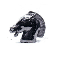 Chrome Horse Head Hood Ornament