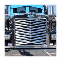 Peterbilt 379 Extended Hood Angled Louvered Grill TP-1102 Front