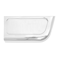 Freightliner Chrome Storage Panel Trim By Grand General