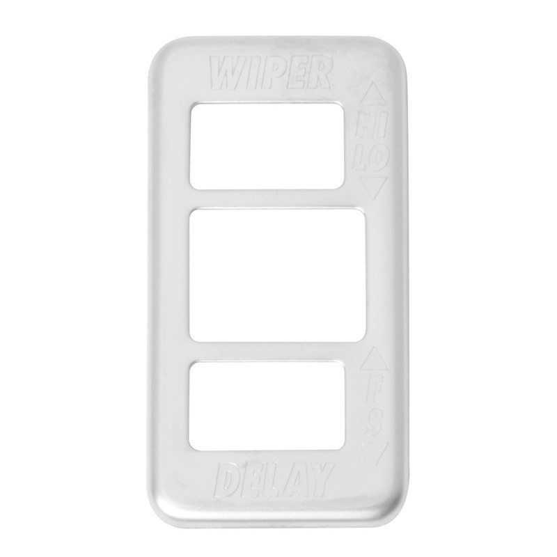 Freightliner Chrome Switch Guard Wiper Washer Plate By Grand General