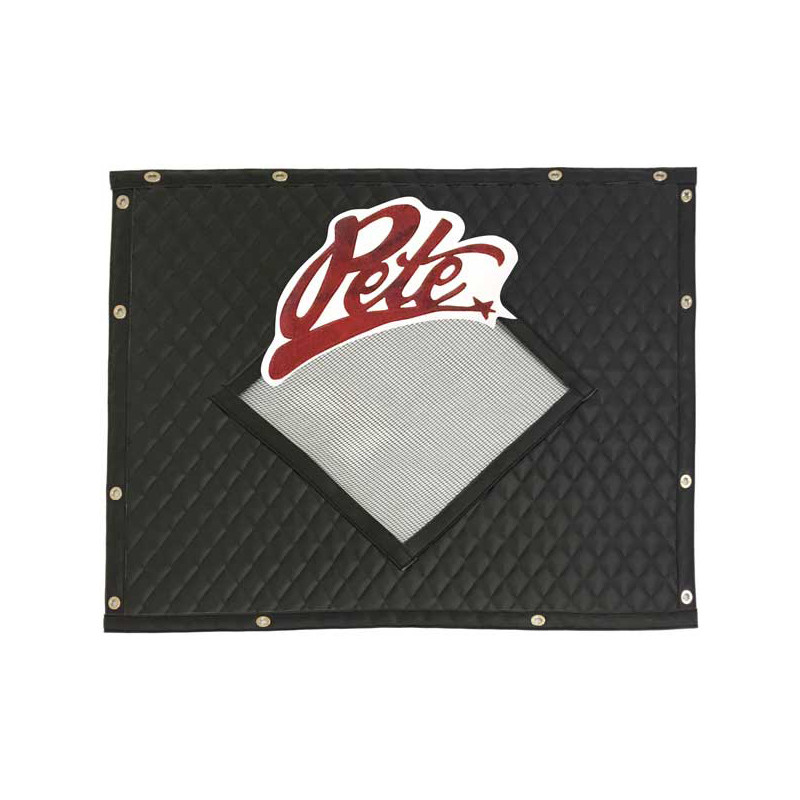 Premium Quilted Diamond Pete Logo Winter Front By Robert James