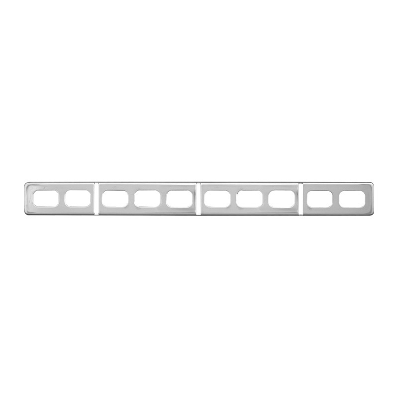 Freightliner Century Stainless Steel Push Button Panel Cover By Grand General