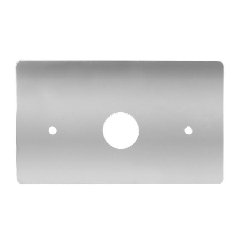 Grand General Chrome Steel Dash Light Cover for Peterbilt