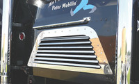 Peterbilt 362 COE Cabover Rear Grill With 7 Louver-Style Bars By RoadWorks