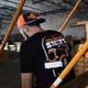 Graveyard Hammer Lane T-Shirt On Model Back
