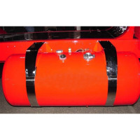 Kenworth Or Peterbilt Fuel Tank Straps Straight Style
