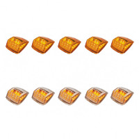 17 LED Reflector Square Cab Light Pack