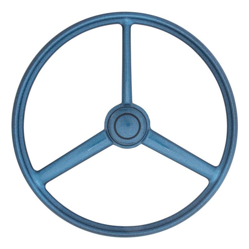 "20"" Blue Retro Sparkle 3 Spoke Steering Wheel"