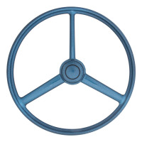 "20"" Blue Retro Sparkle 3 Spoke Steering Wheel"