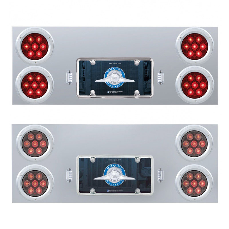Competition Series Rear Center Panel With 4 Bezels