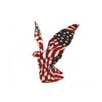 American US Flag American Eagle Hood Ornament