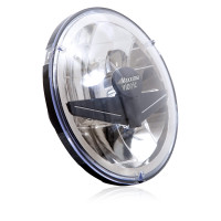 "Vionic 7"" Dual Beam Head Lamp Angled"