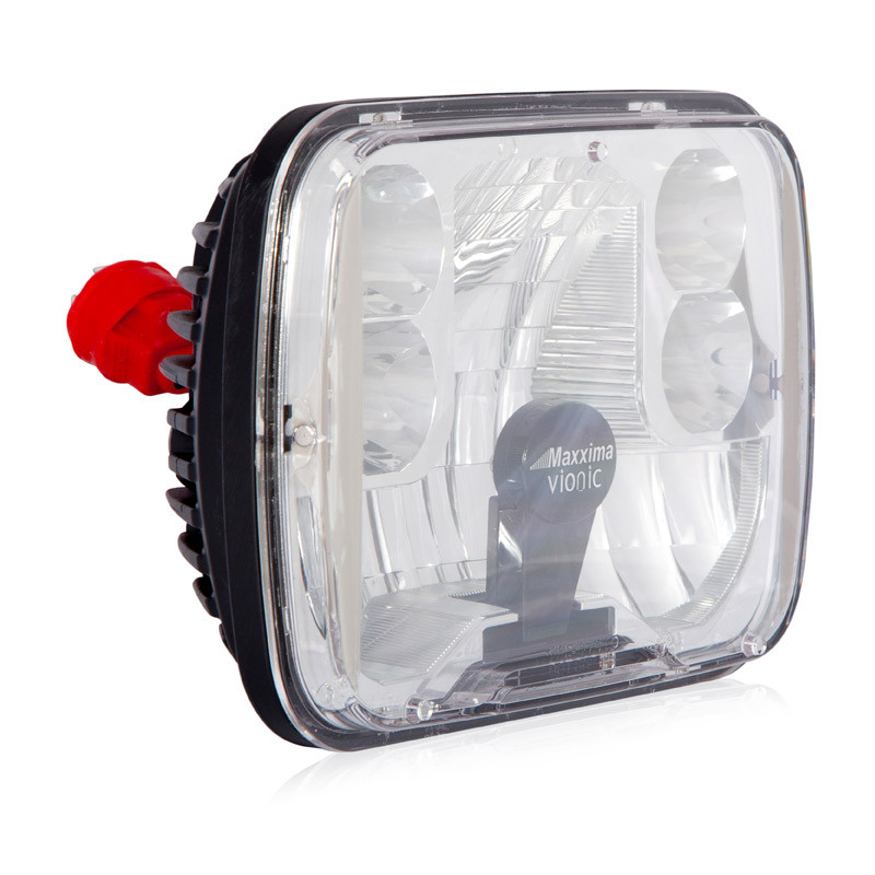 5 X 7 Integrated Dual Beam Heated Led Headlight Vionic Maxxheat By Maxxima