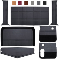 Peterbilt 359 379 Budget Model Interior Kit Black