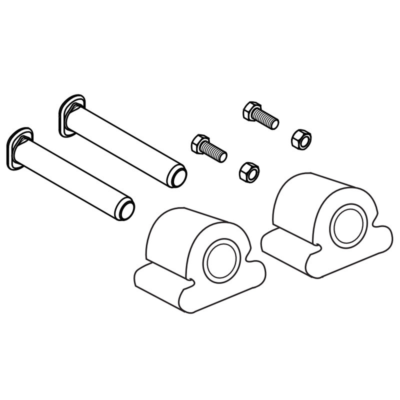 Holland Fwal 5th Wheel Pin And Bushing Kit