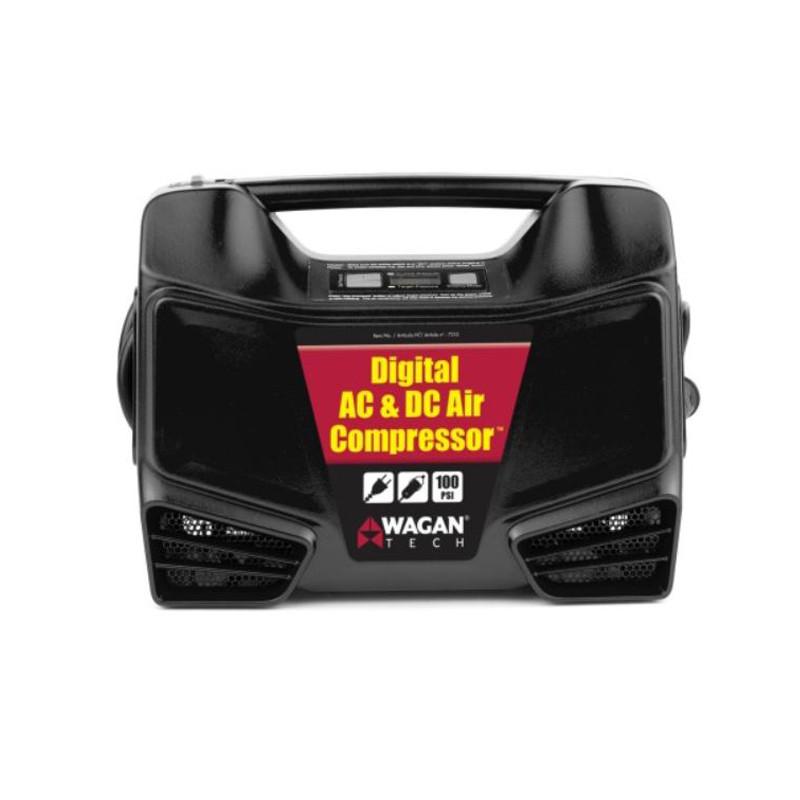 AC/DC Digital Air Compressor Front View