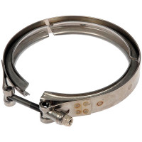 Mack Volvo Diesel Particulate Filter Clamps Angled