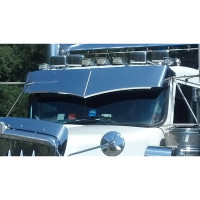 Kenworth Wicked Visor On Truck