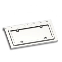 Stainless Steel License Plate Holder For Peterbilt Kenworth