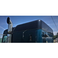 Freightliner Mid Roof Conversion with Builtin Liner Side View