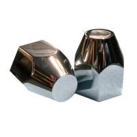 Aluminum 33mm Thread On Tapered Hex Lug Nut Covers