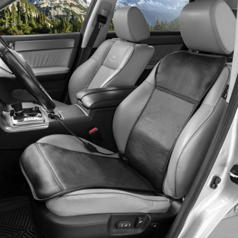 Auto Sport Heated Seat Cushion By Wagan Tech