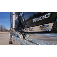 Kenworth T680 T880 W990 Stainless Steel Cab Panels