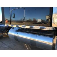 Kenworth T680 T880 W990 Stainless Steel Sleeper Panels