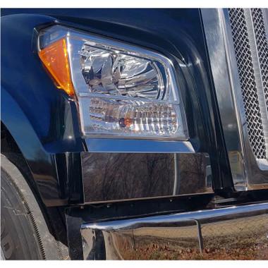 Kenworth W990 Fender Guard Pair Raney S Truck Parts