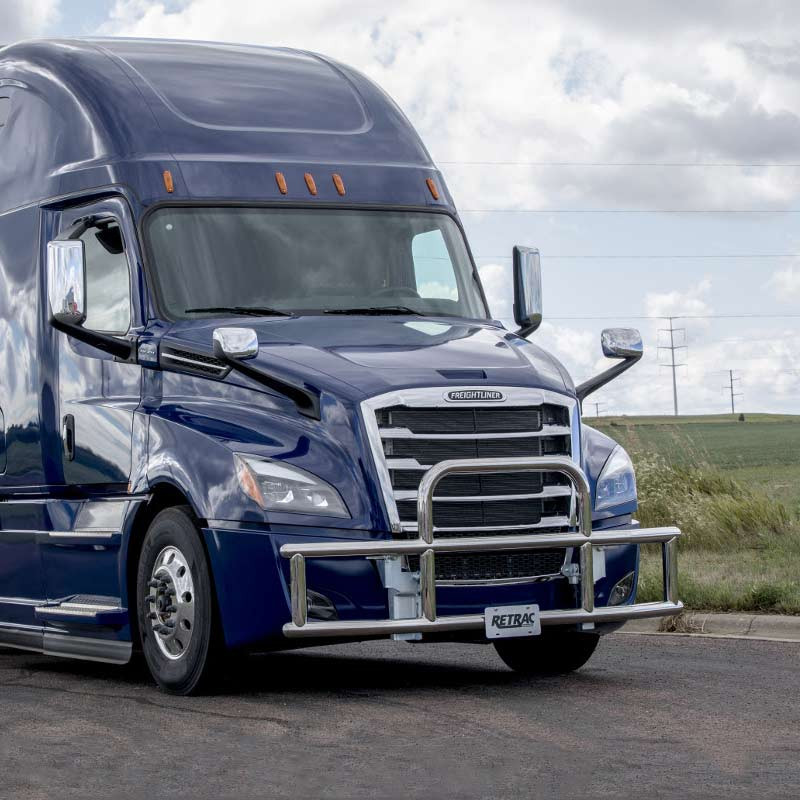 Freightliner Cascadia 2018+ Tuff Guard XT Grill Guard (Stainless Steel)