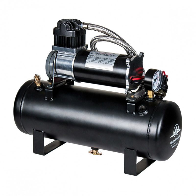 Competition Series Heavy Duty 12V 140 PSI Air Compressor & Tank Kit