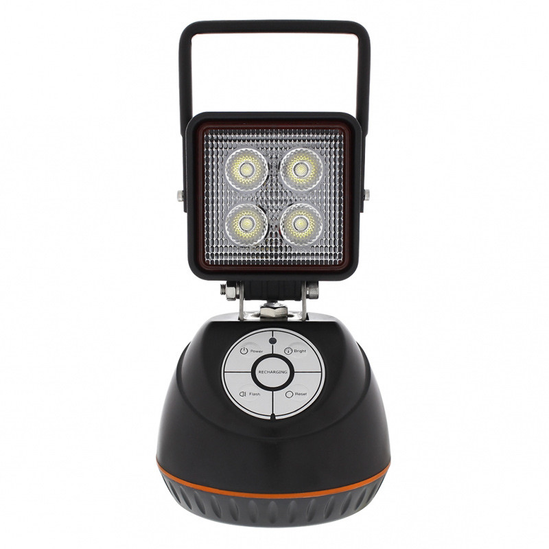 Magnetic Rechargeable LED Work Light Front