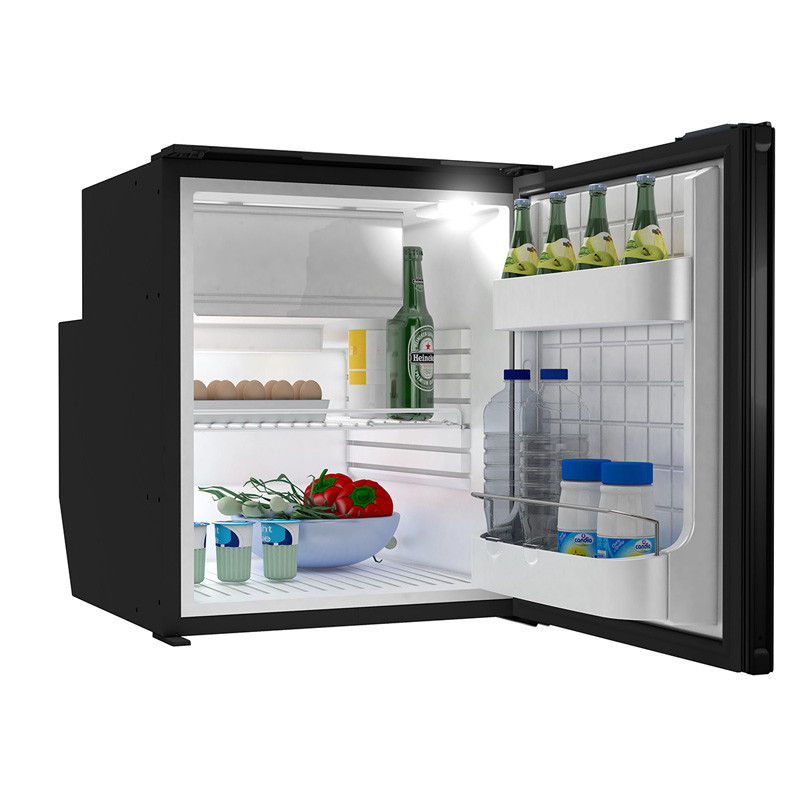 "Truck Fridge Built-In 12-Volt DC Refrigerator with Freezer for 18.5 "" Cabinets - Inside"