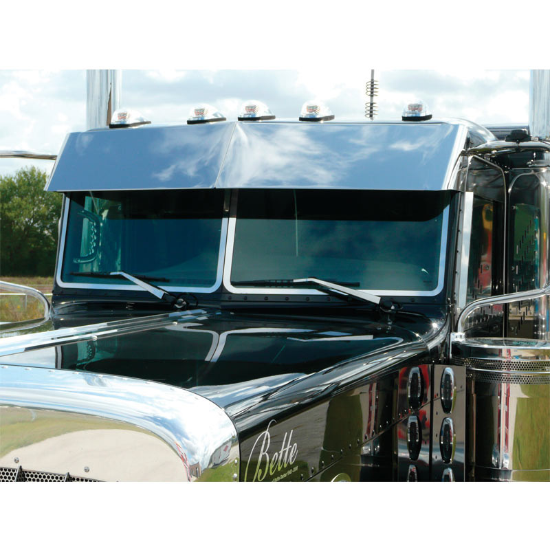 Peterbilt 1988 And Newer Old School Windshield Trim By