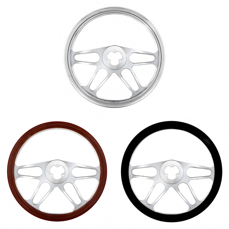 "18"" 4 Spoke Style Steering Wheel"