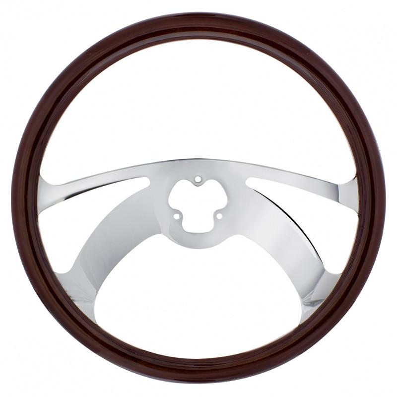 "18"" Chrome Scorpion Style Steering Wheel"